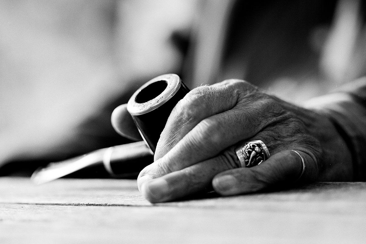 Günter Grass, Foto&Copyright: Werner Bartsch