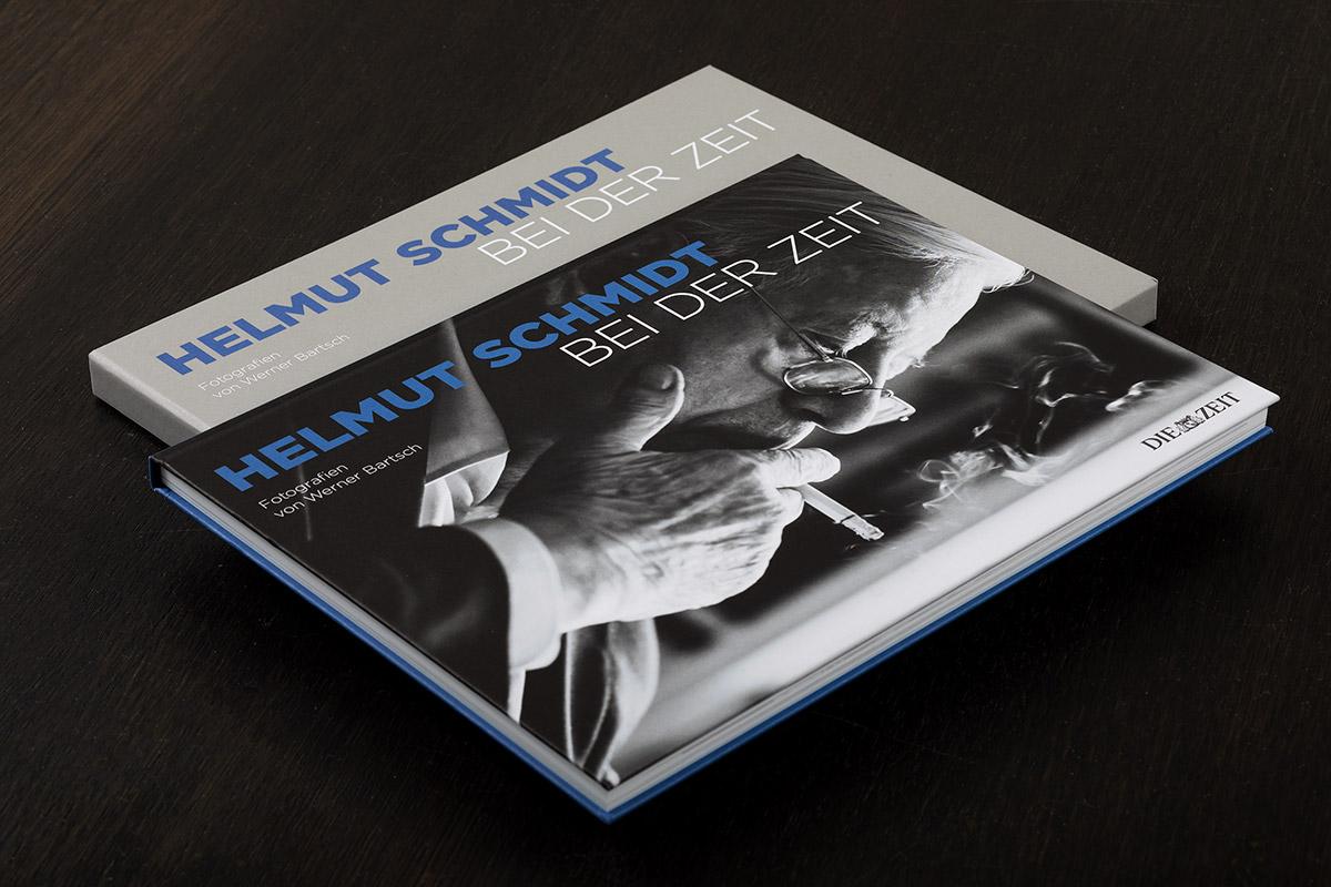 Bildband 'Helmut Schmidt bei der ZEIT' - Fotografien von Werner Bartsch, Fotograf Werner Bartsch